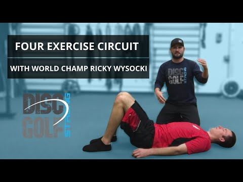Four Exercise Circuit with World Champ Ricky Wyscoki for Stronger Shoulders, Hips, and Core