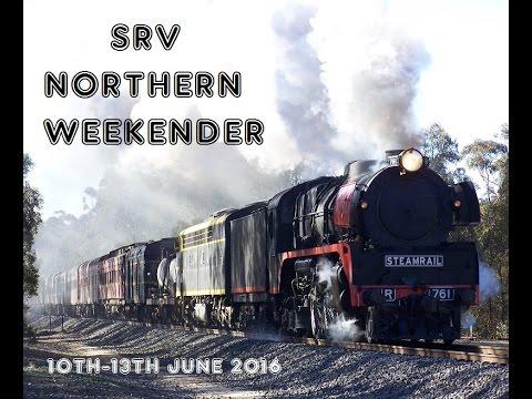 Australian Trains: SRV Northern Weekender. 10th-13th June 2016
