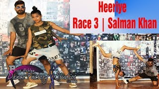 Heeriye Song Dance Choreography |  Race 3 | Salman Khan | By PADF Feet