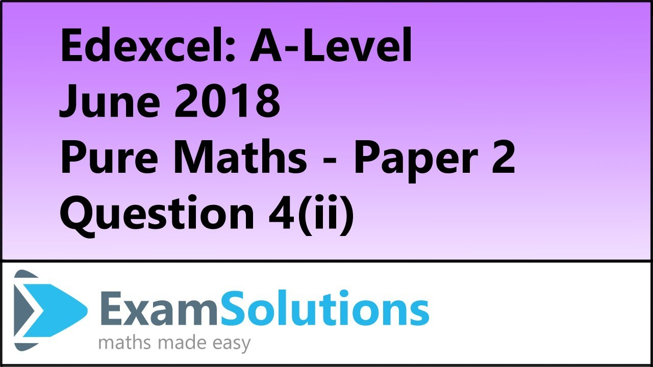 Exam Questions - Recurrence relationships | ExamSolutions