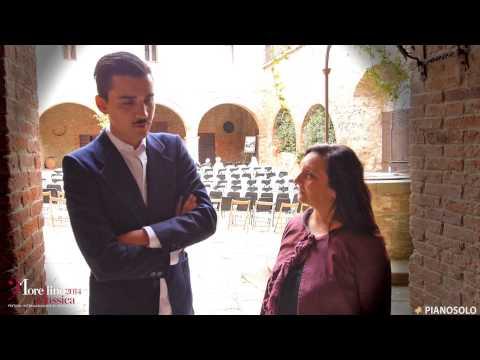 Intervista a Pietro Bonfilio - Morellino Classica Festival 2014