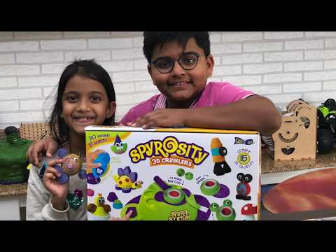 Spyrosity Quilling Based Creative Toy and Activity Set Review by  Kicha &  Nauri