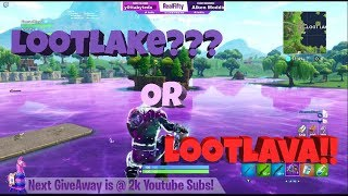 FORTNITE S5 Stream 84 Loot Lake? and Port-A-Fortress spike the Galaxy Skin *NEW* Gifting Giveaway