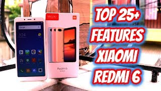 Xiaomi Redmi 6 Top 20+ Hidden Features , Advance Features , Best Features ! Tips & Tricks !! HINDI