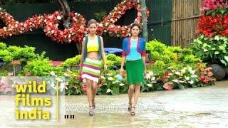 The Best Mizo models at Anthurium Festival fashion show, Mizoram