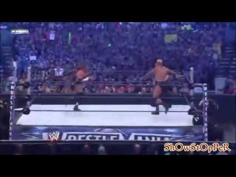 Triple H vs Randy Orton WWE Championship Match WrestleMania 25 Full Match - WWE