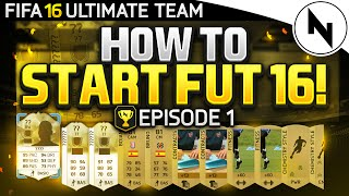 STARTING ULTIMATE TEAM! - FIFA 16 Ultimate Team Episode 1