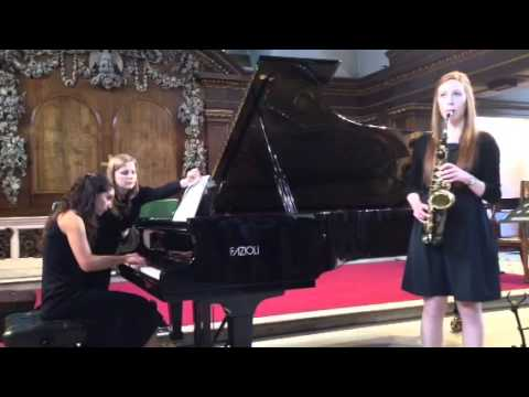 Takacs, Two Fantastics, Saxophone/Piano,