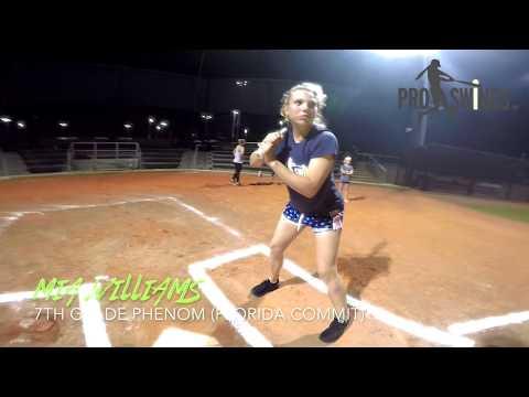 Kid Swings Players vs. Pros Homerun Derby