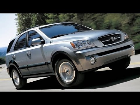 2006 Kia Sorento Start Up, Road Test, and Review 3.5 L V6