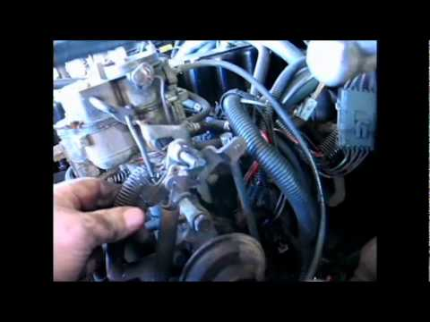 Throttle Fixed Jeep CJ7 carter carb 258 YouTube