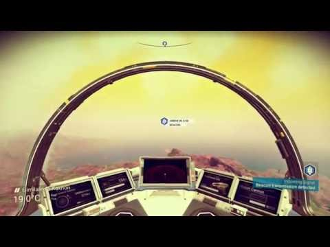 No Man's Sky Ep3 | Learn How To Fly | New Planet Exploration