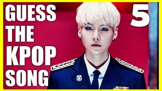 Kpop quiz: guess the song #05