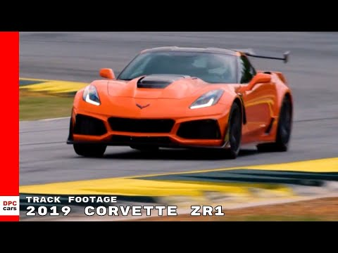 Corvette ZR Track Footage