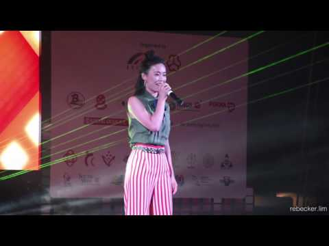 """REBECCA LIM sings """"i'm yours""""!"""
