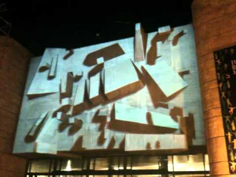 3D video mapping projection - Jerusalem