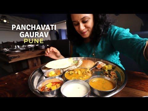BEST Rajasthani Thali In Pune | Panchavati Gaurav | Indian Food Vlog