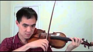 "Violin TUTORIAL: David Garrett ""Zorba"