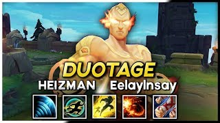 TWO LEE SIN GODS IN THE ULTIMATE LEE SIN MONTAGE | Heizman & EelayInsay - League of Legends