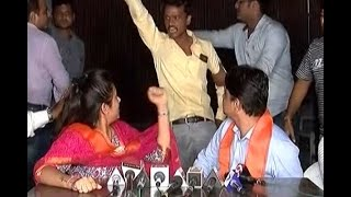 Gujarat Assembly Election: Hardik supporters create ruckus in Varun Patel's PC
