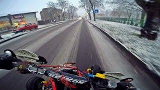 Quad SNOW Riding 2k17 | PIERWSZY ŚNIEG trzeba korzystać