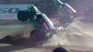 Double Diggers Monster Jam El Paso, Texas Sunday, 3-3-13 Highlights