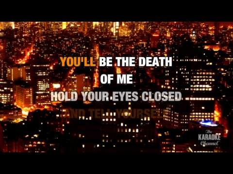 Remedy in the style of Seether | Karaoke with Lyrics