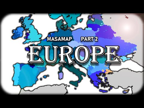 Masaman's 2021 Ethno-Racial Map of the World (Part 2: Europe)