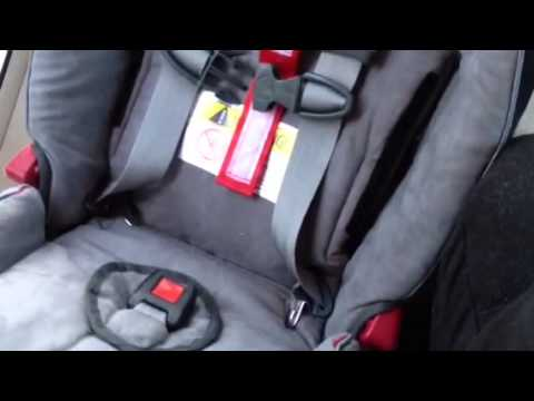 Radian R100 Car Seat Install By Chp