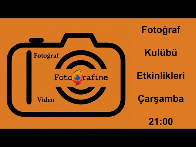 FOTOGRAFİNE Fotoğraf Kulübünün 2020 yılı etkinlikler tanıtım videosu