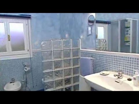 Muro de pavés para el baño - Bricomania - YouTube