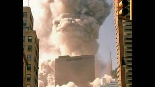 911- WTC Core Spire Vaporized: Raw 360-degree Visual evidence