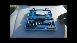 Kit extracteur injecteur HDI, grippé, bloqué, avec marteau à inertie