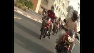 PAPA JOHN'S BIKE & CAR RALLY IN DUBAI 2011