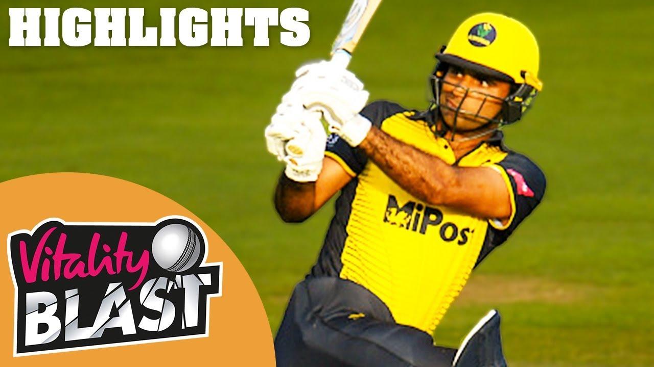 Glamorgan v Gloucestershire | Fakhar & Salter Star In Dramatic Game | Vitality Blast - Highlights