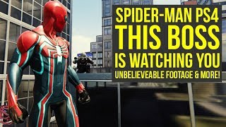 Spider Man PS4 Secrets - This Boss IS WATCHING YOU, Insane Glitch & More (Spiderman PS4 Secrets)