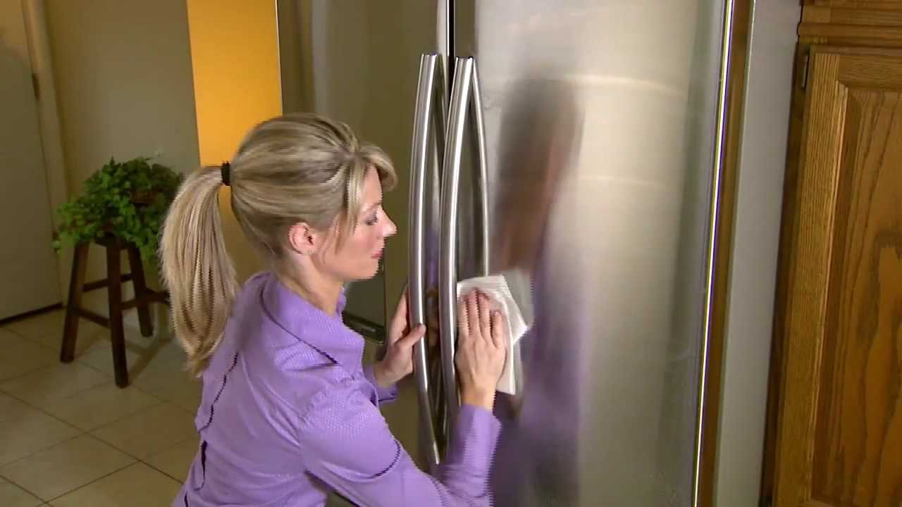How To Clean Stainless Steel Appliances Magic Youtube