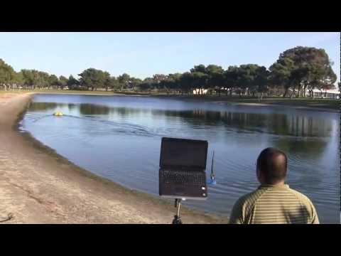 Oceanscience Z-Boat 1800 Remote Control Hydrographic Survey Boat - Dredging Bathymetry