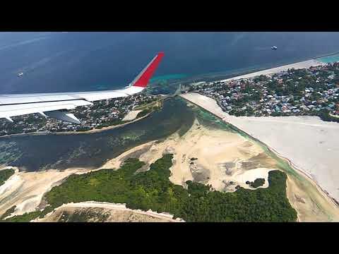 Beauty of gan island ,take of to colombo