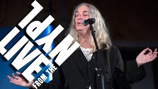 Patti Smith sings a cappella at the New York Public Library | LIVE from the NYPL