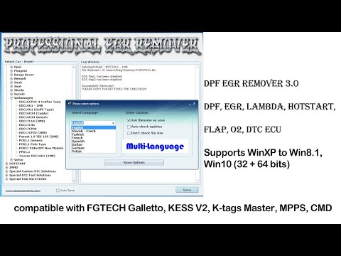 How to install Professional DPF EGR Remover Software 3 0 -OBDII365