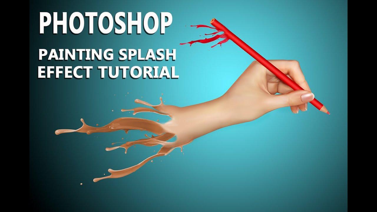 Photoshop splash photo effect photoshop cs6 tutorial youtube baditri Images
