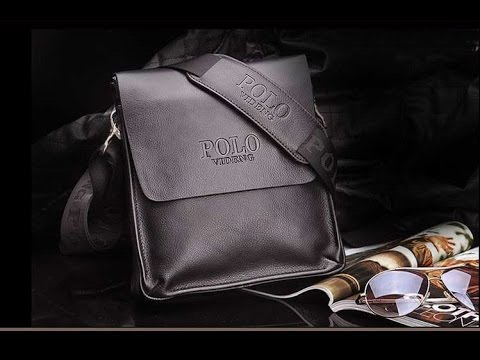 cc7964d26207 Шикарная мужская сумка POLO + часы Curren в подарок! - YouTube