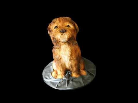 Sculpted Dog Groom's Cake