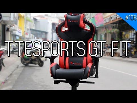 Ghế chơi game TT ESPORTS GT FIT: Lính mới mà chất!