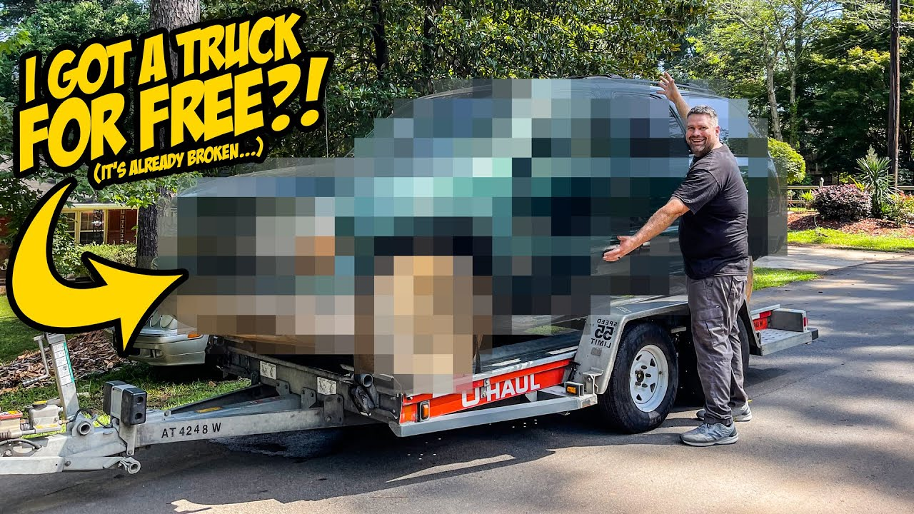 I Got An INSANE Truck FOR FREE (Because It's REALLY Broken)