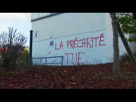 Geçim sıkıntısı çeken Fransız öğrencilerin eğitimle imtihanı