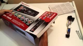 Unboxing e montaggio autoradio Pioneer DEH-1700UB