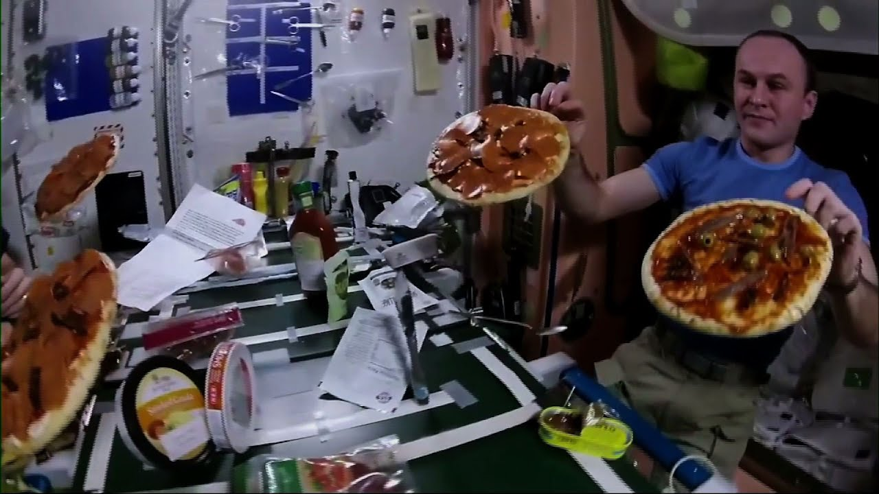 what would astronauts eat in space - photo #6