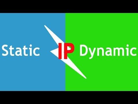 Как настроить Статический IP и Диномический IP адрес Windows 10, 7
